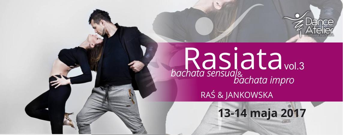 Instruktorzy bachaty Raś i Jankowska w maju w Dance Atelier