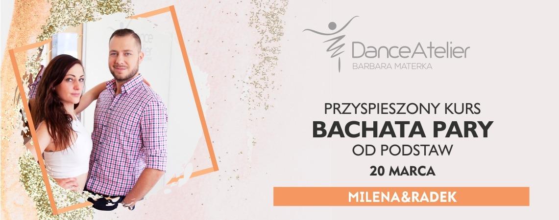 Przyspieszony kurs BACHATY od podstaw dla par i singli! /20.03.21/