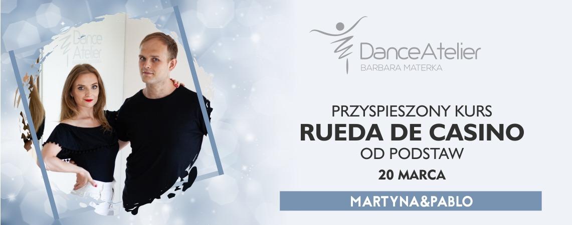 Przyspieszony kurs RUEDY DE CASINO od podstaw dla par i singli! /20.03.21/