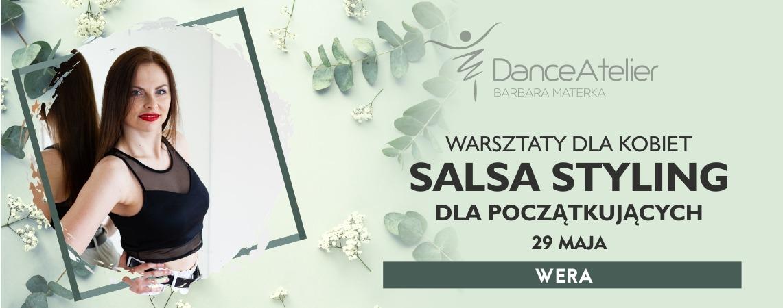 Warsztaty dla kobiet – Salsa Styling dla początkujących! /29.05.21/