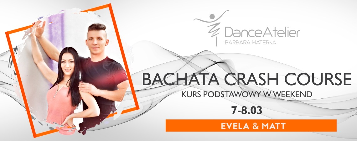 Crash course, czyli Bachata od podstaw w jeden weekend!