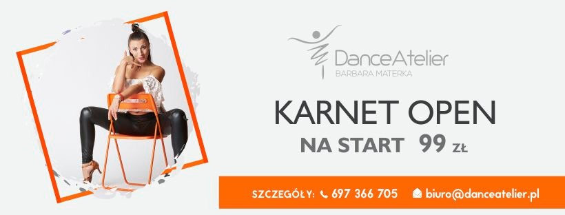 Karnet Open na start w Dance Atelier!